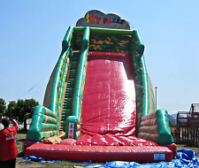50x20x35 Commercial Inflatable Water Slide Combo Bounce House Obstacle Course
