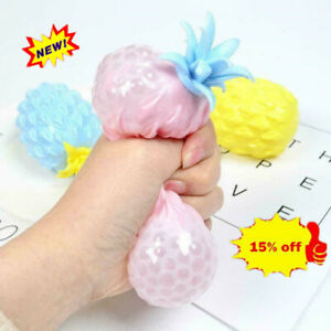 Pineapple Anti Stress Grape Ball Funny Gadget Vent Toys Decompression U6R0