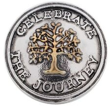 Silver Celebrate Journey Tree of Life 20mm Charm For Ginger Snaps Magnolia Vine