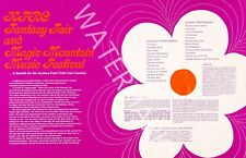 Fantasy Fair - Magic Mountain Music Festival - 1967 Vintage Music Poster