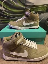 Nike Sb Mogan Mid 2 Jr Shoes Youth Size 3Y Basketball Sneakers Khaki New