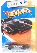 2011 Hot Wheels NEW MODELS #4/50 * '69 COPO CORVETTE * BLACK VARIANT WAL MART EX