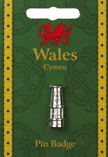 Welsh Pewter Davy Lamp Lapel Pin Badge