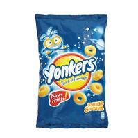 Yonkers mais Maissnack mit Käse chips 8 Portionstüten á 120g Käsechips