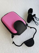 Pink Slim Case for CANON Powershot compact or Slim  Digital Camera #9N