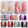 70cm Hot Fashion Women Long Wavy Curly Hair Anime Cosplay Party Full Wig Wigs