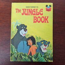 Disney Wonderful World of Reading 1974 The Jungle Book Hardcover