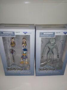 Diamond Select Toys Disney Kingdom Hearts Dusk,Donald,Chip & Dale Action Figures