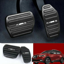 Black Foot Gas Brake Pedal Automatic Accessories For Nissan Kicks 2017-2019 AT