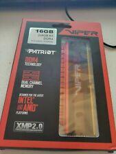 New listing Patriot Pv48G300C6K 16 Gb Ddr4-3000 Dimm Kit New