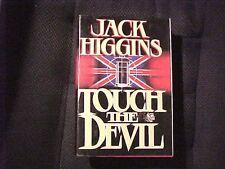 Touch the Devil Bk. 2 by Jack Higgins (1982, Hardcover) Book Novel Fiction