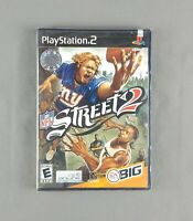 NFL Street 2 (Sony PlayStation 2, PS2, 2006) Black Label *BRAND NEW* Y-Fold