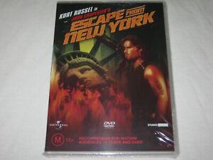 Escape From New York - Kurt Russel - Brand New & Sealed - Region 4 - DVD