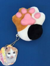 Squishy Cat Pad Mascot Strap(Mike)