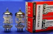 2 MATCHED NOS RCA 6AK5/6J1/EF95/5654 w/BONUS FITS YAQIN TUBE BUFFER-BEST SOUND