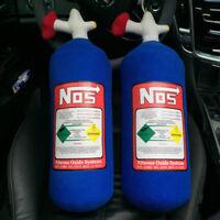 EE_ NOS Nitrous Oxide Bottle Tank Creative Plush Throw Pillow Cushion for Car Ne