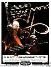 DEVIN TOWNSEND PROJECT 2010 PORTLAND CONCERT TOUR POSTER - Front Line Assembly