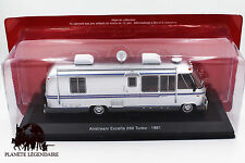Miniature IXO CAMPING CAR AIRSTREAM EXCELLA 280 Turbo 1981 Van NEUF