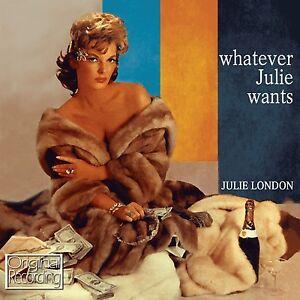 Julie London - Whatever Julie Wants CD