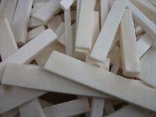 100 Grammes  of Craft Bone Pieces , Jewellery Making , Guitar Repair, Inlay etc