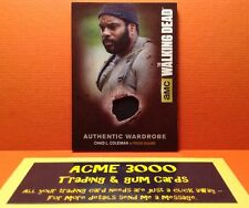 Cryptozoic Walking Dead Season 4 Authentic Wardrobe Card Tyreese - Coleman M19