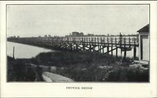 Fenwick CT Bridge c1910 Postcard