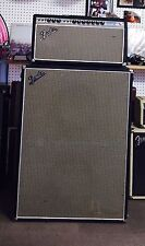 Vintage 1968 Fender bandmaster Reverb/vibrato Head And Cabinet, Drip Edge