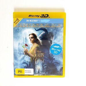 Disney Beauty and the Beast Movie 3D Bluray Movie Free Postage Blu-ray