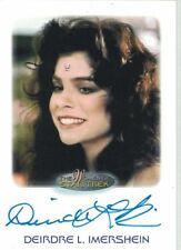 Star Trek Women of Star Trek  50th Anniversary Deirdre L. Imershein autograph