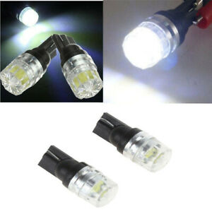 T10 Bulbs W5W 501 LED SMD Car Side Light Interior Lights Error Free Canbus White