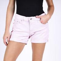 Levi's Mid Lange Rosa Damen Shorts W28