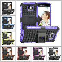 Samsung Galaxy S3 S4 S5 S6 S7 S8 Heavy Duty Armor Phone Case Cover with Stand