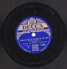 """10"""" 78 Dinah """"Makin' Faces At The Man In The Moon"""" / """"Good For You"""" DECCA F.2625"""