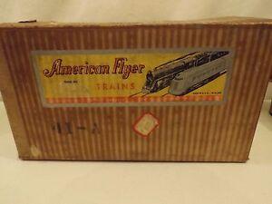 O gauge American Flyer #41-A advertising set in original box