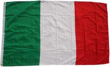 XXL Bandiera Italia 250 x 150 cm con 3 Metallo Occhielli sollevamento Italy