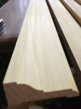 "1 Piece Decorative Hardwood Lumber Poplar Moulding 1-1/16""x 2-13/16""x 82-1/4"""