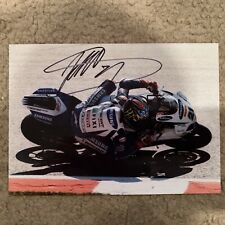 Signed John Hopkins WSB Crescent Suzuki 7x5 Photograph
