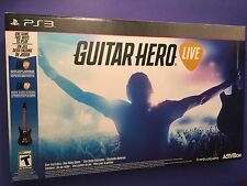 Guitar Hero Live Bundle + Wireless Guitar Controller (PS3) NEW