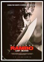 Manifesto Rambo Last Blood Sylvester Adrian Grunberg Paz Vega Película P06