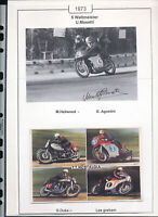565274 / Motorrad Beleg Autogramm Umberto Masetti