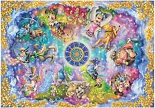 Tenyo Stained Art Jigsaw Puzzle 1000 piece Disney Mickey Constellation