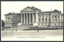 Angers Palais de Justice France 1909 Collotype Divided Back by Papeghin UNUSED