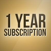 12 Months Gift For Openbox V8s V9s, Skybox F5 F3 Zgemma Amiko V9s Dream etc.
