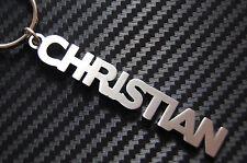 CRISTIANO personalizzato con nome portachiavi CHIAVE SU MISURA ACCIAIO INOX