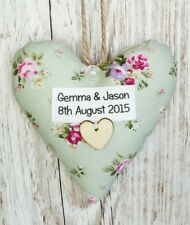 5th Wood Wedding Anniversary Heart Keepsake, Homemade Gift, Special Occasion