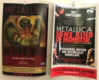 "RARE METALLICA 2-sided 11""x17"" PROMO POSTER 2004 Some Kind Of Monster NM COND"