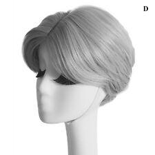 Mens Korean Handsome Vogue Black Short Hair Cosplay Party Hair Wig Full Wigs Hot