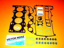 01-07 para Ford Focus Ranger 2.3 Victor Reinz Cabeza Juego Juntas + Pernos