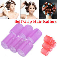6 Pcs Self Grip Hair Rollers Pro Hairdressing Curlers Hair Salon Tool FASHION uk