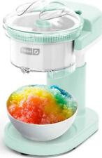 Dash Shaved Ice Maker Slushie Machine With Stainless Steel Blades For Snow